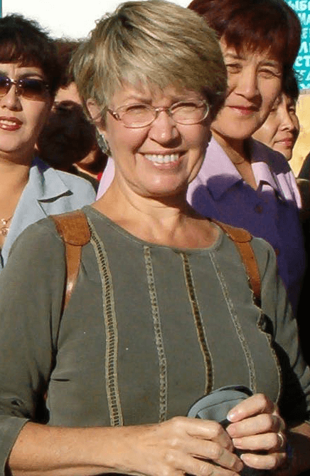Janet Givens, author of At Home on the Kazakh Steppe
